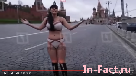 Смотрите зачем Итальянская оперная певица разделась для Путина